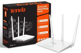 Router Wireless TENDA F3 300Mbps 3 antenas 5 Dbi