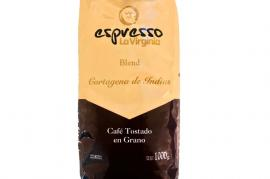 Cafe LA VIRGINIA Grano Cartagena 1kg.