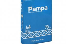 .Resma PAMPA A4 70gr.