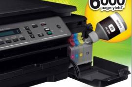 Multifucion Brother DCP T300 con tinta de regalo.